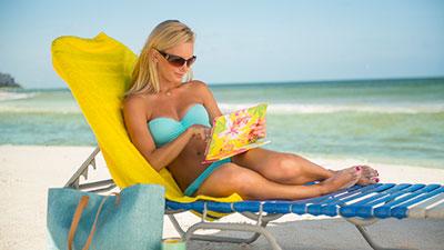 Pelican Bay Beach Woman