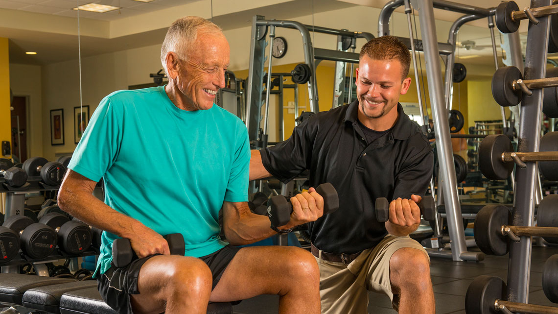 Fitness Centre - Personal trainer