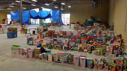 24th Annual Pelican Bay Marine Toys For Tots Foundation Toy Drive