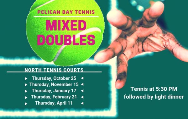 Mark your tennis calendars with upcoming Mixed Doubles