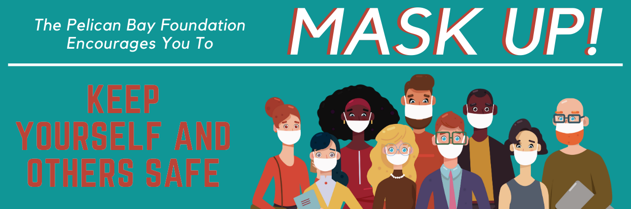 covid mask banner graphic